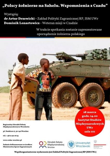 image: Polscy żołnierze w Sahelu - udział PKW w misji EUFOR Tchad/RSA...
